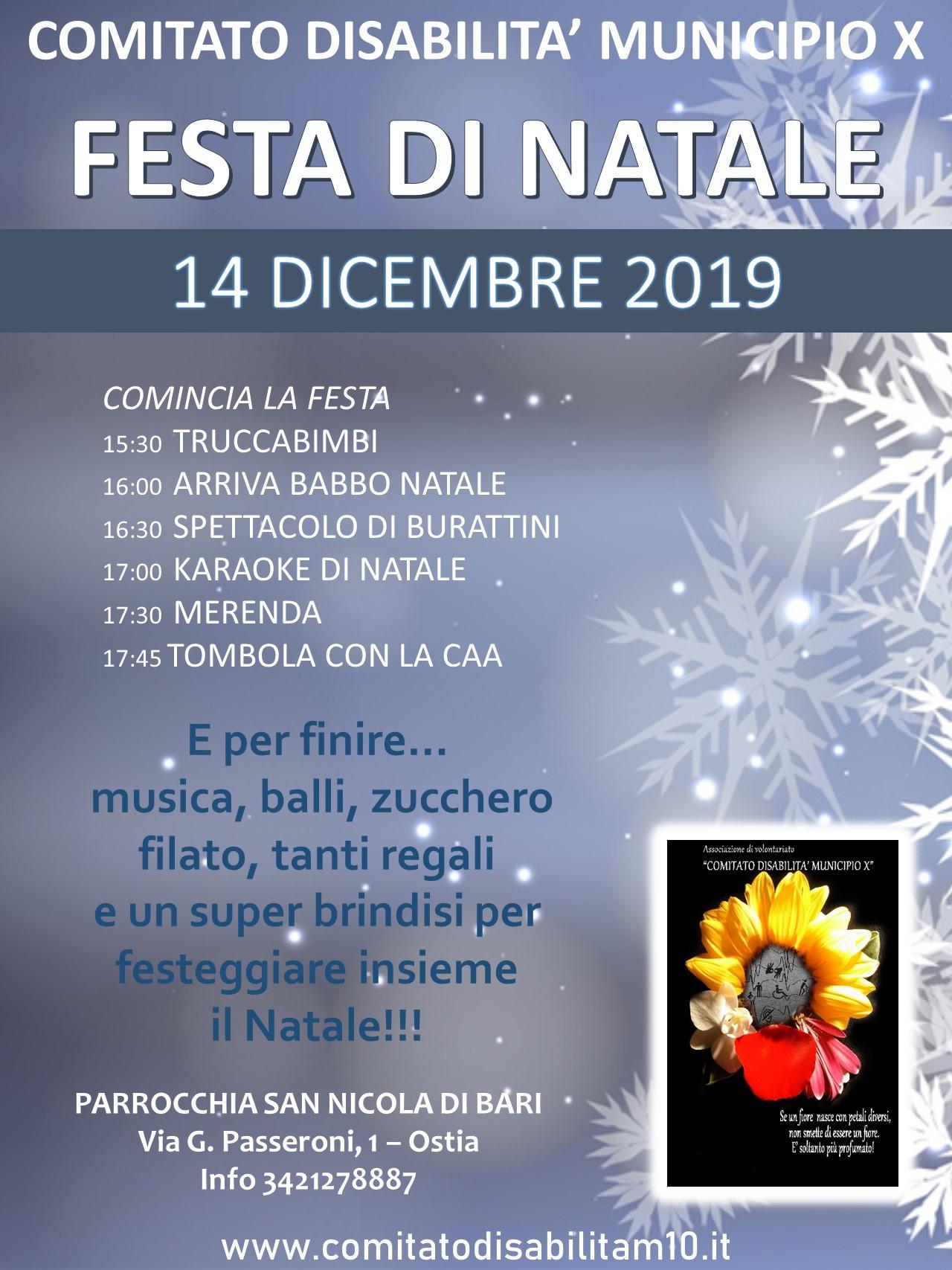Festa Natale 2019